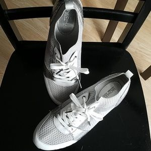 Michael Kors Silver Trainers 10M